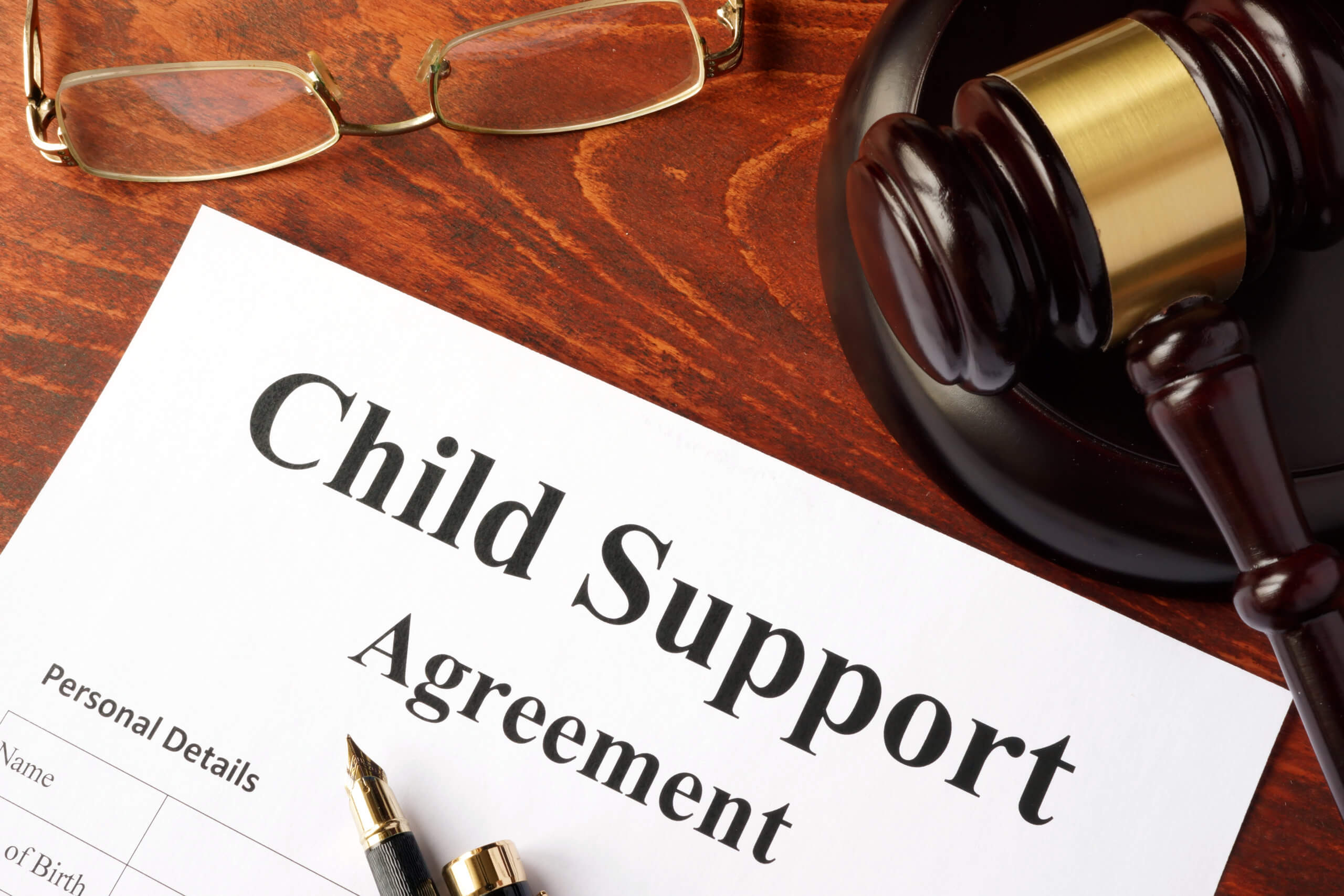 Cannot afford child support