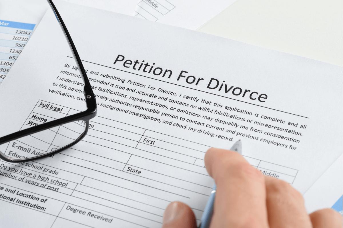 Files for Divorce